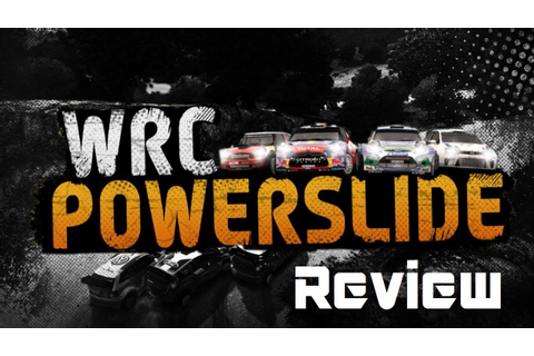 WRC Powerslide Game Review - YouTube