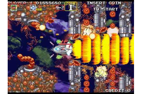 Darius Gaiden-Silver Hawk EXtra Version (ARCADE) Inv - YouTube