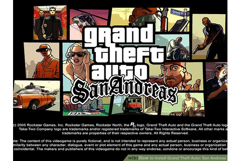 How to Install Grand Theft Auto: San Andreas: 12 Steps