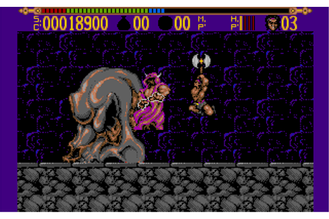 Ending for Torvak The Warrior(Amiga)