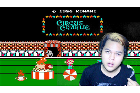 Circus Charlie - game 90an nintendo #11 - YouTube