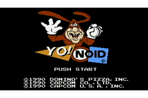 Yo! Noid - NES Gameplay - YouTube