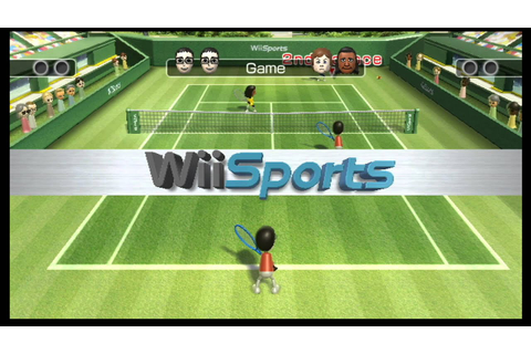 Wii Sports - Tennis - YouTube