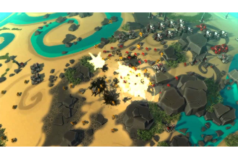 Planetary Annihilation Kickstarter Trailer - YouTube