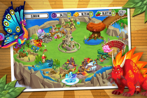 Explore The World Game : Dragon City Mobile : Great ...