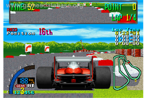 F1 Exhaust Note - Arcade - Games Database