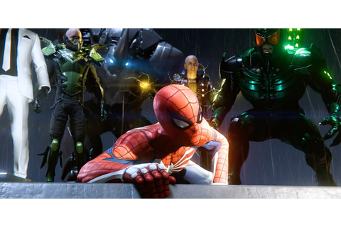 Spidey v Sinister Six in PS4 demo - Hero Collector