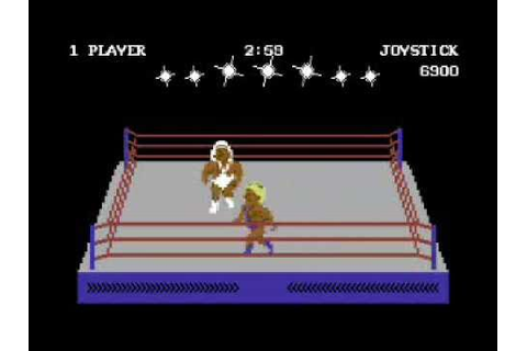 Rock´n Wrestle [C64] Speedrun - YouTube