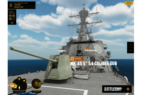 Battleship: Destroyer Experience Released As Companion App ...