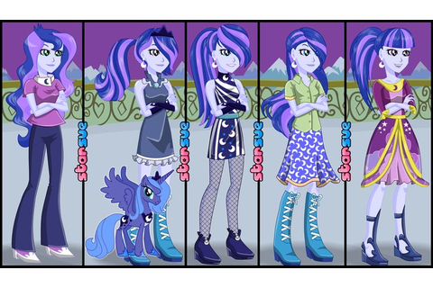 My Little Pony Equestria Girls Vice-Principal Luna Dress ...