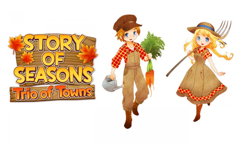 Story of Seasons: Trio of Towns coming to the West in 2017 ...