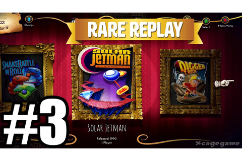 Rare Replay - Gameplay Walkthrough Part 3 - Solar Jetman ...
