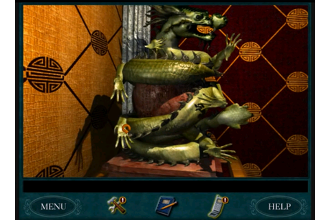 Green Dragon puzzle | Nancy Drew 11: Curse of Blackmoor ...