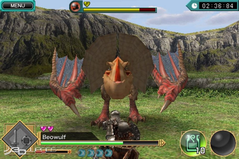 Monster Hunter Dynamic Hunting para iOS - 3DJuegos