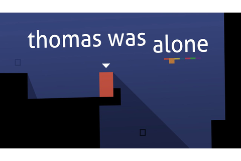 Thomas Was Alone - Android Game Trailer - YouTube