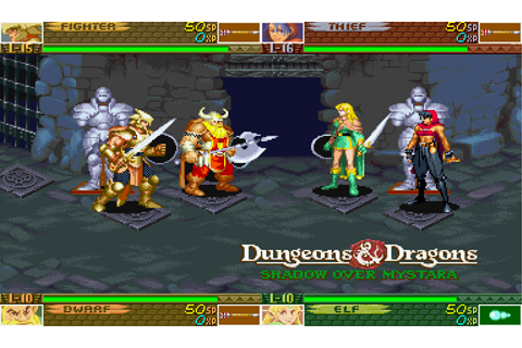 Dungeons - Dragons Shadow over Mystara - descarregar ...