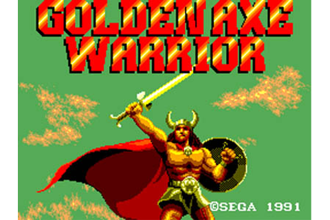 Golden Axe Warrior Review for Master System (1991 ...