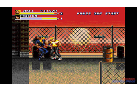 1994 Streets of Rage 3 (Sega Genesis) Game Playthrough ...