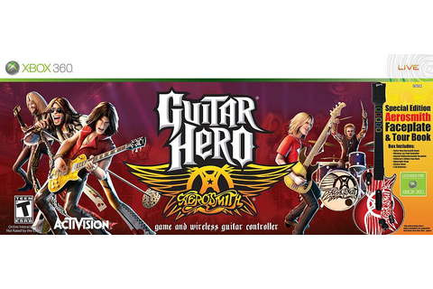 Guitar Hero: Aerosmith Game & Guitar Controller - Xbox 360 ...