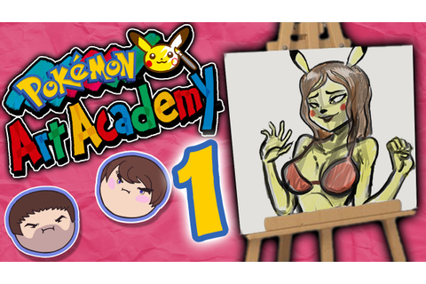 Pokemon Art Academy: Taking Credit - PART 1 - Grumpcade ...