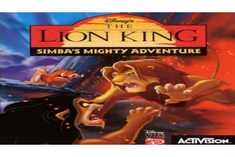 Disney's The Lion King 2 Simba's Mighty Adventure Game ...