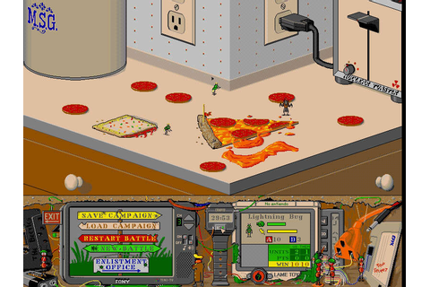 Download Battle Bugs strategy for DOS (1994) - Abandonware DOS