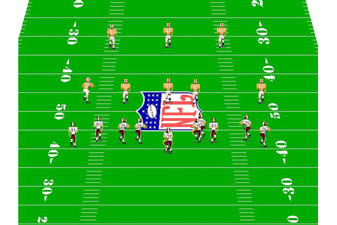 NFL Pro League Football Download (1993 Sports Game)