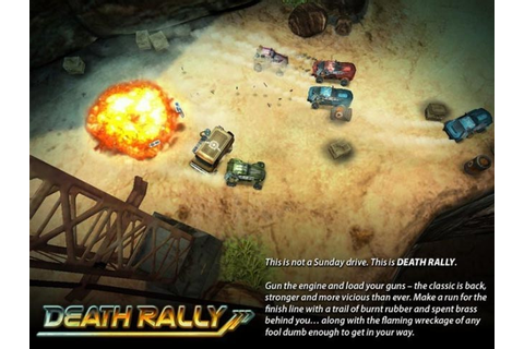 Classic PC Death Rally Game Remake Arriving On iOS Devices ...