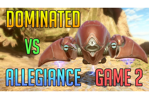 Halo 5 Warzone Warlords - Dominated vs Allegiance Game 2 ...