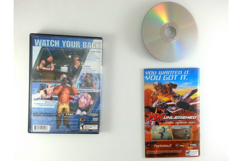 WWE Smackdown Here Comes the Pain game for Playstation 2 ...