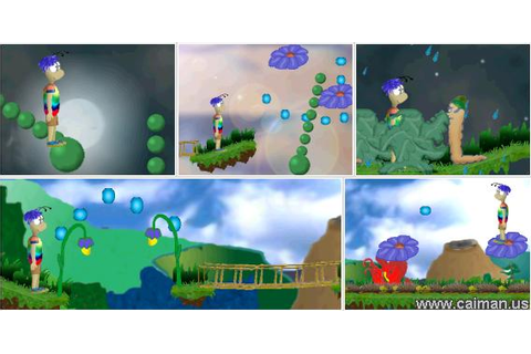 Caiman free games: Bug Adventures by I-Dust.