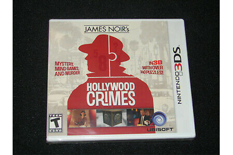 3DS ADVENTURE-JAMES NOIRS HOLLYWOOD CRIMES / GAME 3DS ...