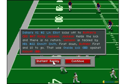 Front Page Sports: Football Pro (1993) - PC Game