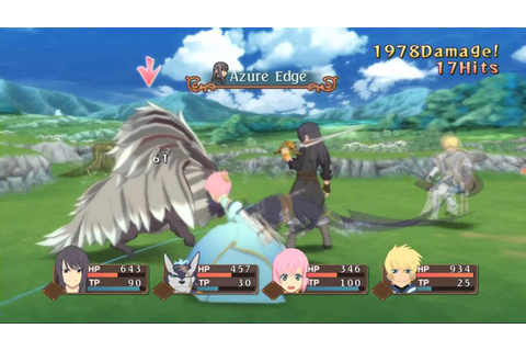 Tales of Vesperia (X360) - Flynn Gameplay and Beta ...