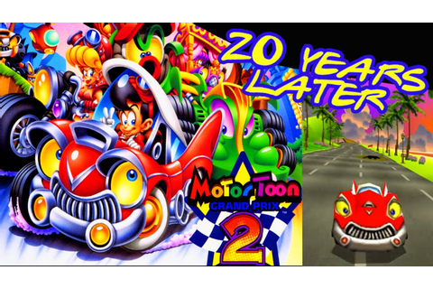 Motor Toon Grand Prix 2 Gameplay - Good Old Games HD - YouTube
