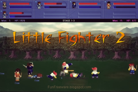 Free Fun Fighting Game - Little Fighter 2 |Download Legal ...