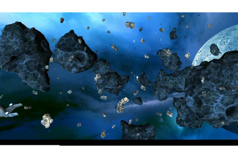 Asteroid Storm - an O2 3D Interactive Cinema Game - YouTube