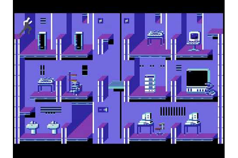 C64 Longplay - Impossible Mission 2 - YouTube