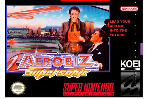 Items similar to SNES Aerobiz Supersonic - Replacement Box ...
