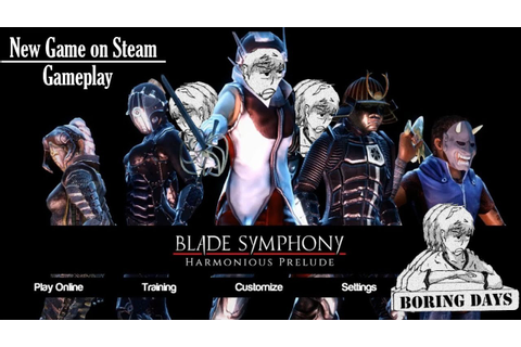 Blade Symphony Gameplay Steam Version - YouTube