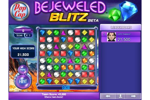 Bejeweled Blitz « Free Online Match-3 Game