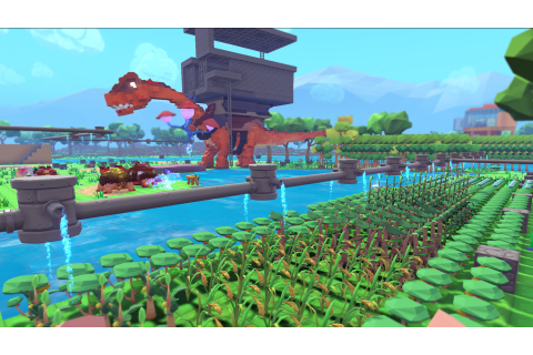 PixARK - Mix aus Ark: Survival Evolved und Minecraft ...