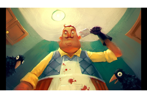 Hello, Neighbor Reveal Trailer (Survival Horror Game ...