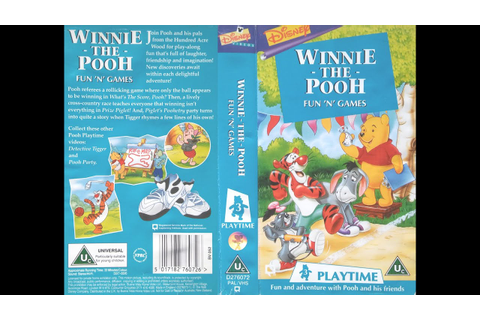 Opening and Closing of 'Winnie the Pooh - Fun 'n' Games ...
