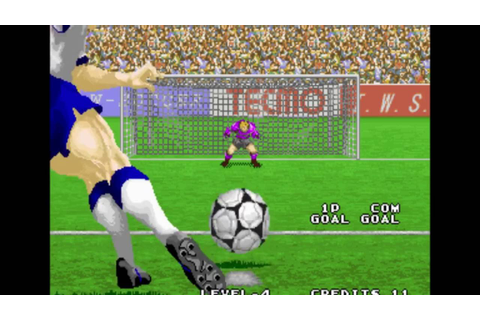 Tecmo World Soccer '96 Quick Play - Arcade Mame - YouTube