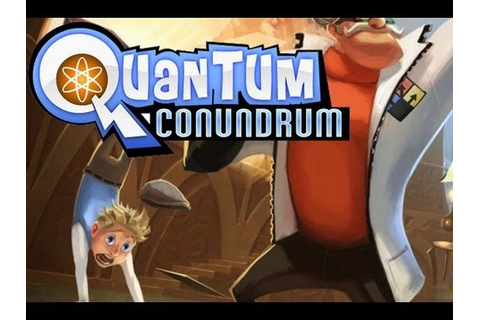CGRundertow QUANTUM CONUNDRUM for PC Video Game Review ...