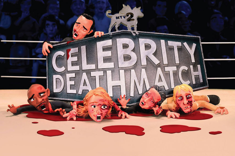 "MTV2 Is Bringing Back ""Celebrity Deathmatch ..."