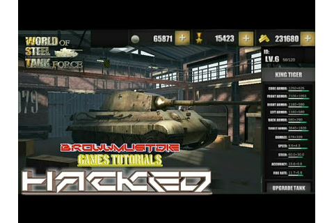 World Steel Tank Force Game Cheat Unlimited Gold Silver ...