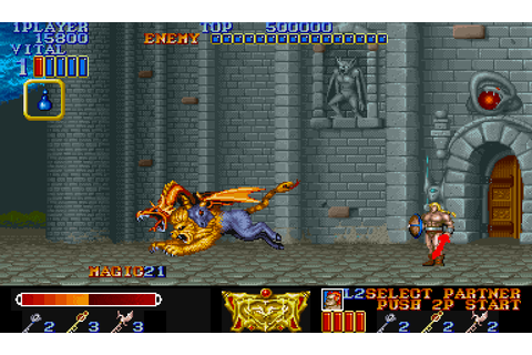 Magic Sword - Heroic Fantasy (1990) for Arcade