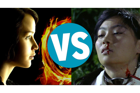 The Hunger Games vs Battle Royale - YouTube